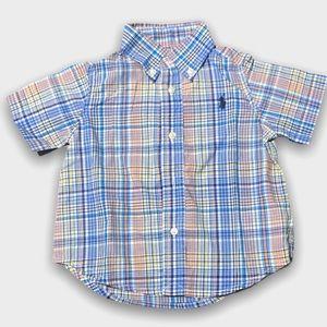 4/$20🥳 Ralph Lauren Short Sleeve Button Down
